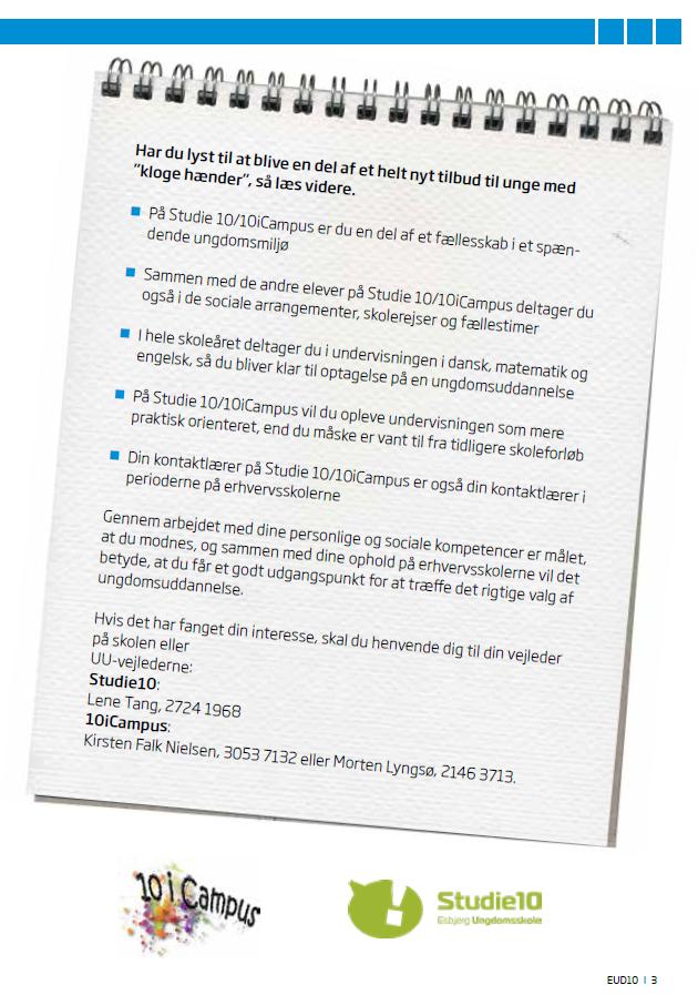 Eud folder - information