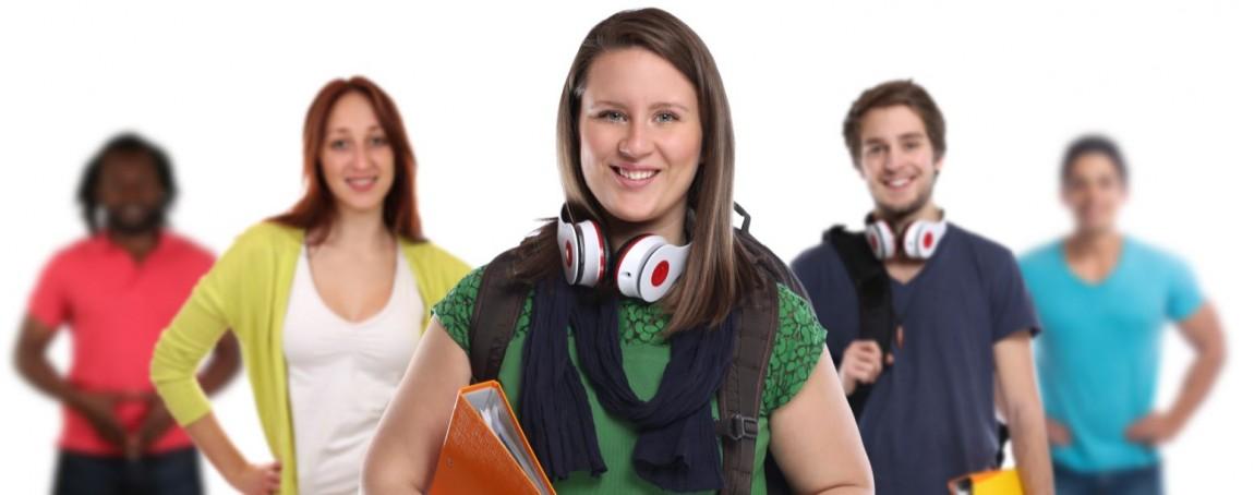 5 elever - 2 elever med hørebøffer