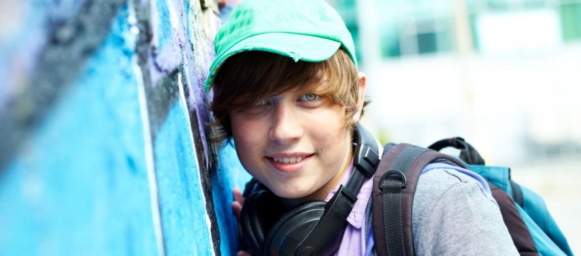 Dreng med cap