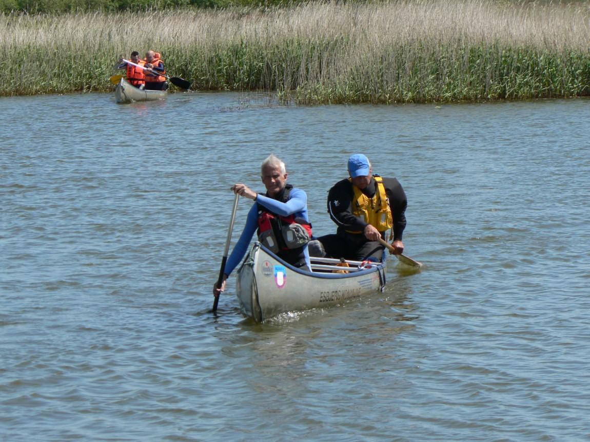 Kanotur med personer